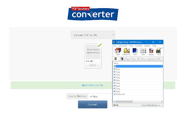 PDF to JPG Converter