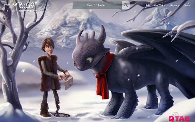 How to Train Your Dragon Wallpapers Theme