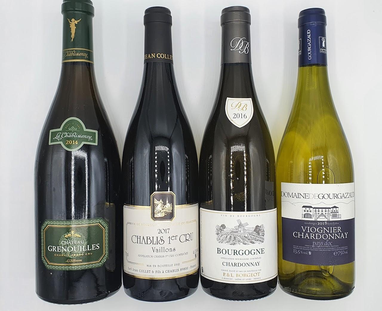Petite Sélection de Vins pour accompagner vos Fruits de mer