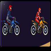 Desert trail stunt bike - crazy motorcycle extreme