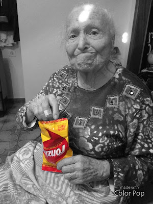 Nonna moderna di Samia
