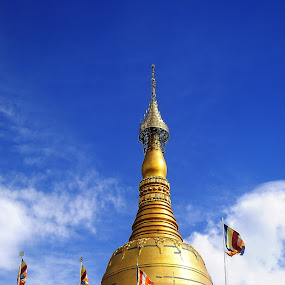 Buddhist temple tower by Rahayu Fipro - Buildings & Architecture Other Exteriors