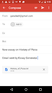 essay generator android apps on google play  essay generator screenshot thumbnail