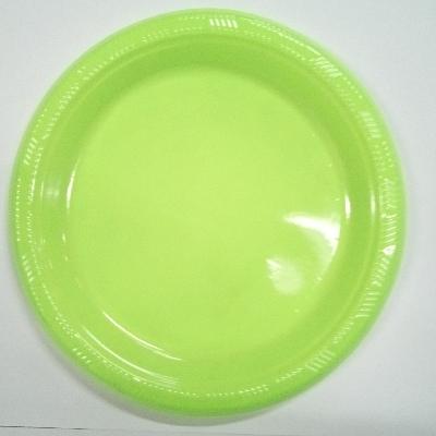 platos plasticos disipal verde 18cm 10und