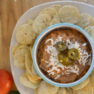Crock Pot Vegetarian Bean and Cheese Dip