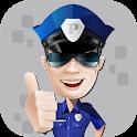 شرطة الاطفال المطور مكالمة وهمية icon