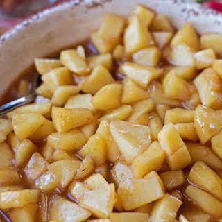 Stovetop Cinnamon Apples.