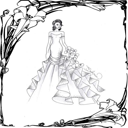 Wedding Dress Design 遊戲 App LOGO-硬是要APP