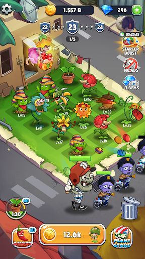 Merge Plants: Zombie Defense apkpoly screenshots 4