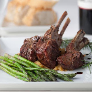 Rack of Lamb With Red Wine Sauce