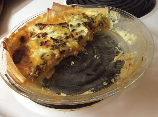 Chile-cheese Quiche Recipe