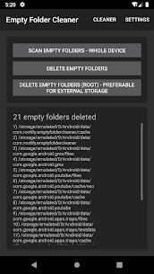 Empty Folder Cleaner App Download for Android 6