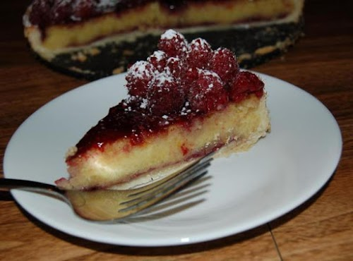 "Raspberry Marzipan Tart ""This recipe is super moist and a hit."" -..."