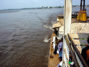 Photo: voyage on the Congo River