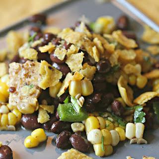 Black Bean Salad with Corn, Cilantro, and Chili-Lime Vinaigrette Recipe