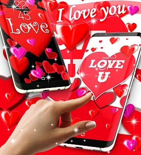 I love you live wallpaper 1