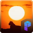 Serengeti Lion Launcher Theme icon