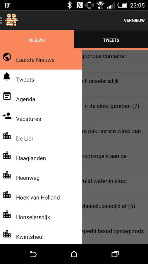 Westlanders.nu- screenshot