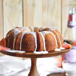 Grapefruit Mimosa Cake.