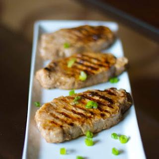 Lemon-Ginger Grilled Pork Chops.