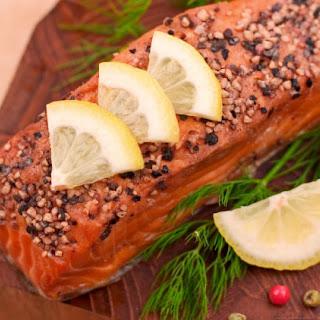 Cider Hot-Smoked Salmon