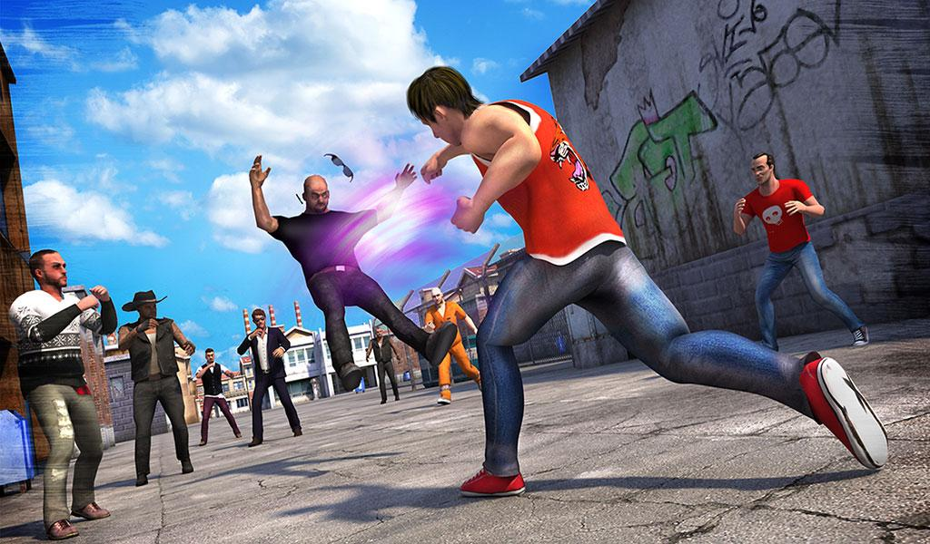 Angry Fighter Attack- screenshot