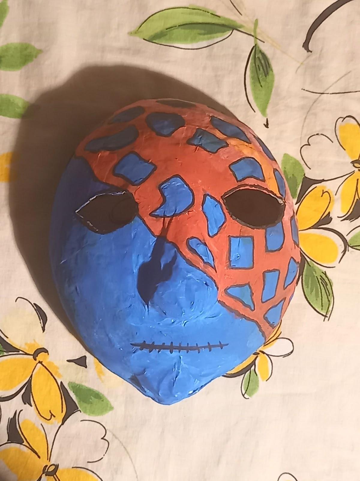 """Loovtöö """"Maskide valmistamine ja näitus"""""""