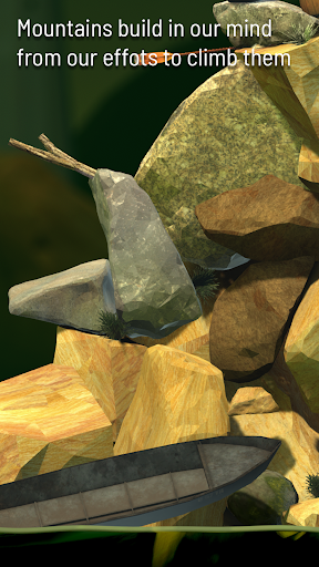Screenshot Getting Over It with Bennett Foddy