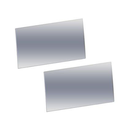 Ytterglas 110x60mm 1000h