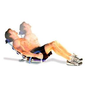 Aparat abdomene pentru fitness si gimnastica