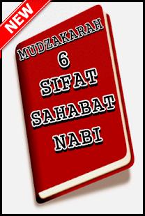 Mudzakarah 6 Sifat Sahabat Nabi Terlengkap - náhled