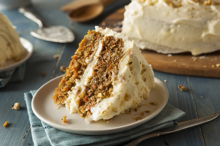 Carrot cake is always a crowd-pleaser.