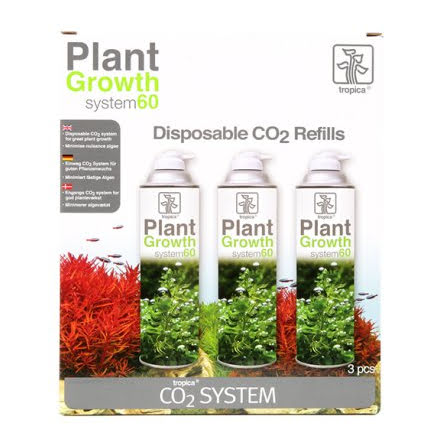 System 60 CO² Refill 3-Pack Tropica