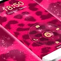 Pink Cheetah Lock icon