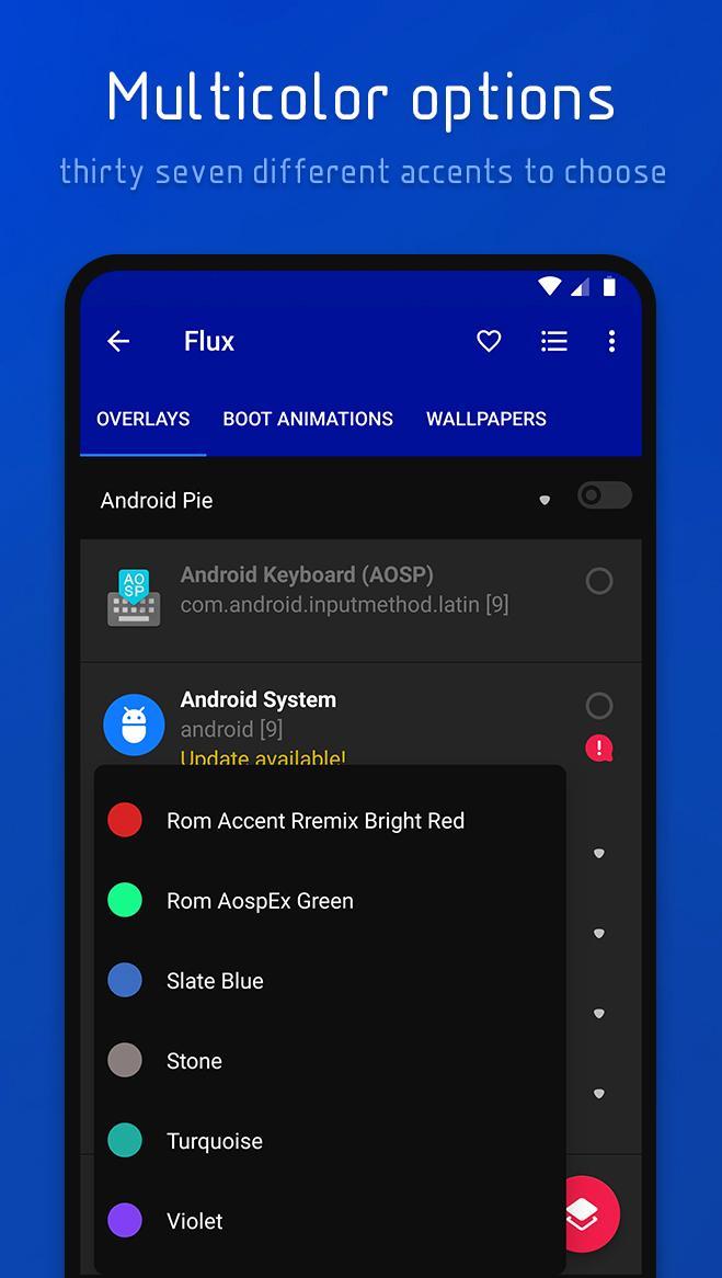 Flux - Substratum Theme Screenshot 7