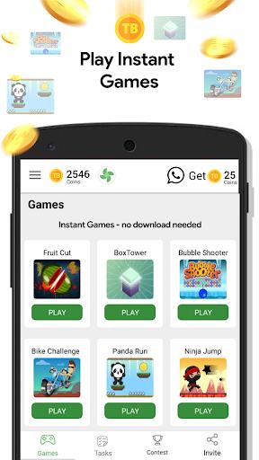 Play Quiz: Get Coins,Wallet Cash,Talktime Recharge screenshot 2