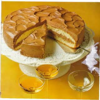 German Creamy Chocolate Cake.