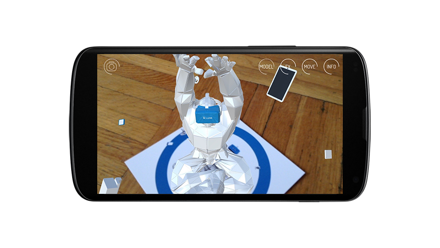 LuReality AR- screenshot