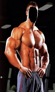 Body Builder Fitness Photo Frames - náhled