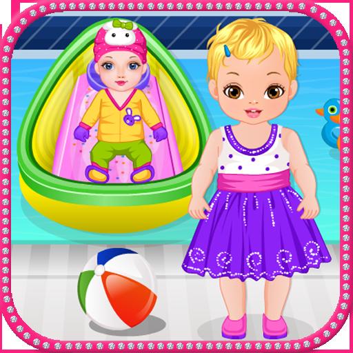 刚出生的宝宝的兄弟游戏 休閒 App LOGO-APP試玩