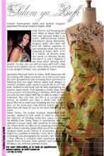 Photo: July 09 - Infusion magazine  - Buffi Jashanmal, personal stylist at Salam