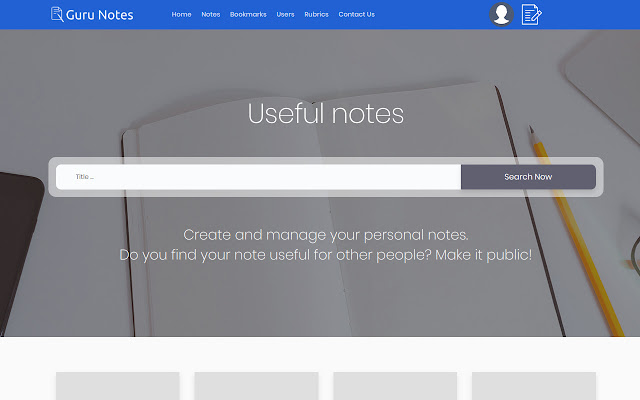Guru Notes Bookmarks