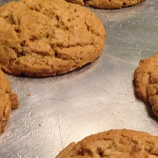 Peanut Butter and Bran Cookies.
