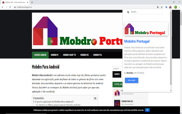 Mobdro Portugal