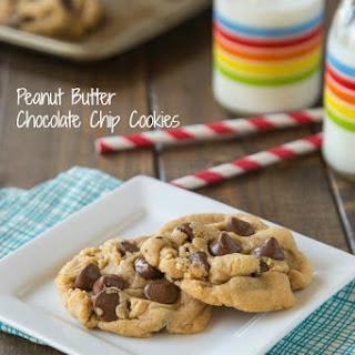 Peanut Butter Chocolate Chip Cookies.