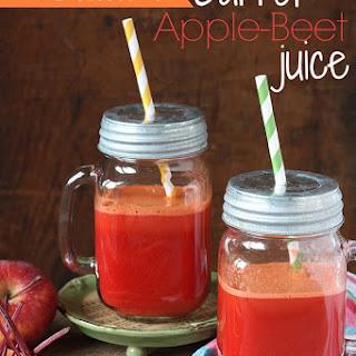 Carrot Juice | Carrot Apple-Beet Juice.