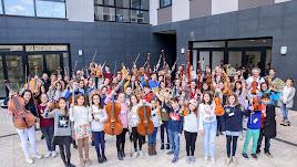 Casi 100 jóvenes músicos asisten al curso de perfeccionamiento organizado por la OCAL.
