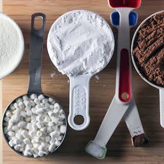 Homemade Hot Cocoa Mix Recipe in Hefty Slider Bags.
