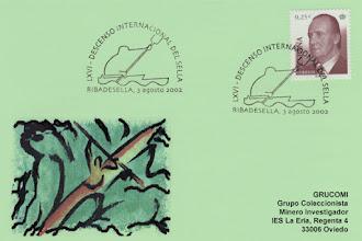 Photo: Matasellos del Descenso del Sella en Ribadesella 2002