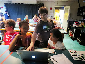 Photo: Learning computer program to create a fun video game